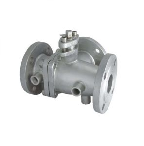 Jacket/Insulation/Heat Preservation Stainless Steel Ball Valve 2PC pictures & photos