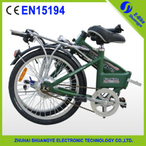 Chinese Brushless Motor 250W Folding Electric Bike pictures & photos