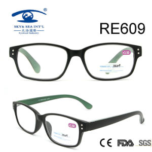 Rectangle Frame Italy Designer Custom Reading Glasses (RE609) pictures & photos
