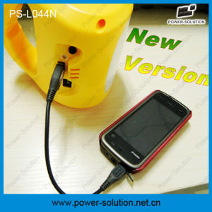 Power-Solution Lithium Rechargeable Solar Lamp with 1W LED Lamp and 1.7W Solar Panel pictures & photos