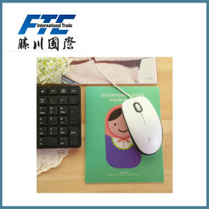 Rubber Mouse Pad for Use Custom Computer and Laptop pictures & photos