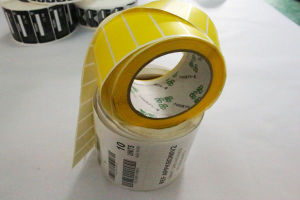Pirnted Paper Adhesive Sticker PVC Self-Adhesive Label (Z033) pictures & photos