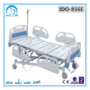 5 Function Centrol Control Lock Hospital ICU Bed pictures & photos