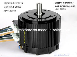 China 10kw brushless dc motor for electric cars liquid for Liquid cooled ac motor