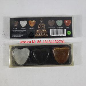 Luck, Peace, Health-- Heart Shape Decorative Stones pictures & photos