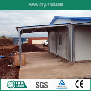Prefab Houses in Angola for Labor Camp