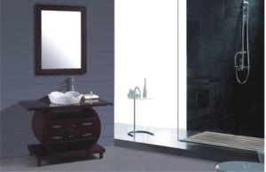 70cm PVC Bathroom Cabinet Furniture (B-252) pictures & photos
