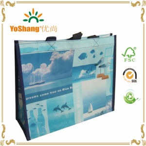 Eco Tote PP Laminated Nonwoven Bag PP Non Woven Lamination Shopper Bag Non Woven Polypropylene Tote Bag pictures & photos