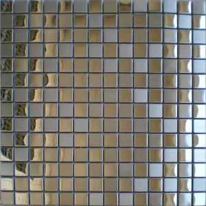 New Products on Market Glass Mirror Silver Fireplace Wall Backslash Mosaic Tiles pictures & photos