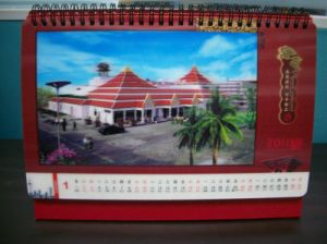 2015 China Red 3D Calendar Printing pictures & photos