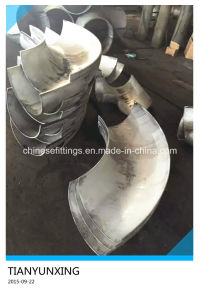 Stainless Steel Two Half Large Diameter Long Radius Elbow pictures & photos