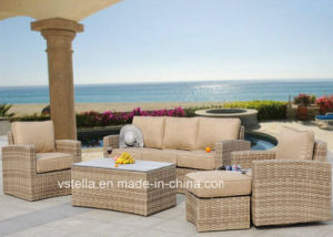 Luxxella Patio Beruni All Weather Couch Sectional Outdoor Rattan Furniture pictures & photos