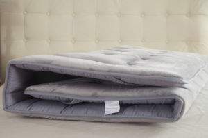 Polyester Fabric with Elastic Mattress Cover Topper pictures & photos