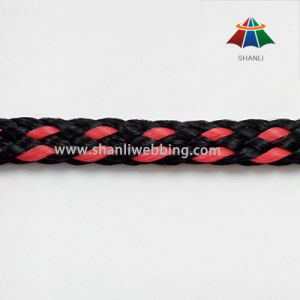 8mm Flat PP Rope, Double Braided Shoe Rope pictures & photos