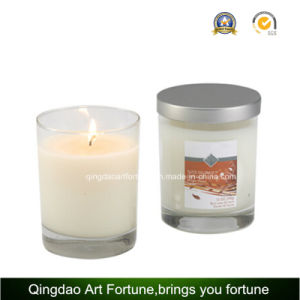 Scented Filled Votive Glass Candle with Metal Lid pictures & photos