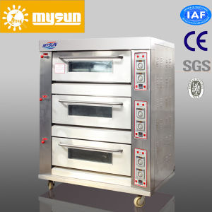 3 Decks Bread Oven /Commercial Bakery Deck Oven pictures & photos
