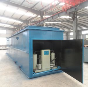 Portable Containerized Wastewater Treatment Mbr Plant pictures & photos