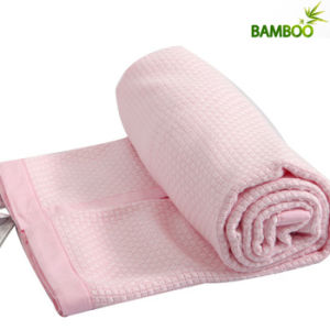 OEM Service Cute Bamboo Fiber Baby Towel Blanket pictures & photos