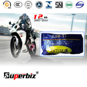 High Durable Natural Motorcycle Tire and Inner Tube (2.50-17) /Rubber Tube pictures & photos