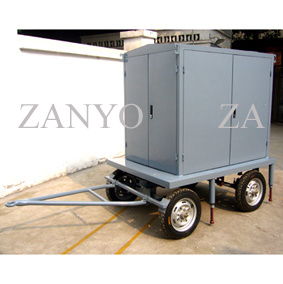 Mobile Trailer Type High Vacuum Transformer Insulating Oil Purifier with T Shape Chembers pictures & photos
