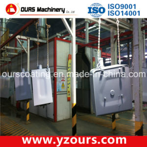 High-Efficiency Paint Spraying Line for Oil Tanks pictures & photos