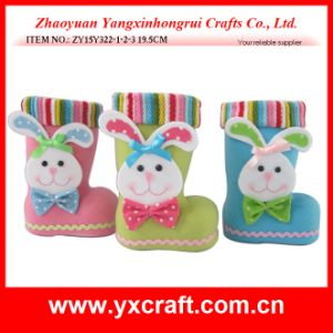 Easter Decoration (ZY15Y322-1-2-3) Easter Bunny Candy Boot pictures & photos