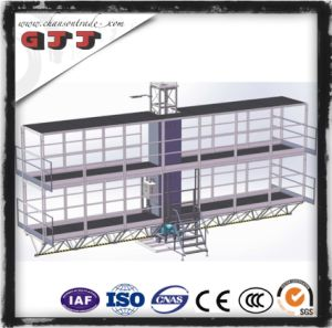 GJJ SCP Type Suspended Safety Work Platform for Building Construction Single Column Double Floors