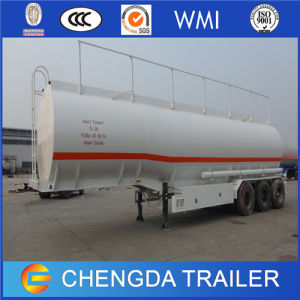 3 Axles 55000L 60000L Fuel Oil Tanker Trailer for Sale pictures & photos