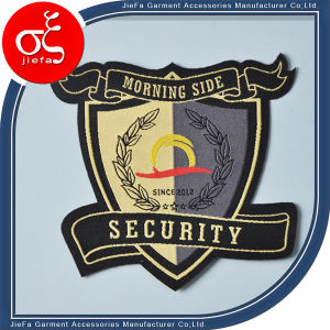 Brand Label Woven/Custom Iron-on Woven Patches/Custom Arm Patches pictures & photos