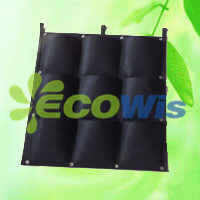 9 Pocket Reinforced Square Hanging Vertical Garden Wall Planter (HT5096C) pictures & photos