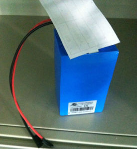 11.1V 6000mAh LED Light Lithium Battery Pack pictures & photos