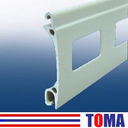 37mm Aluminum Single Layer Slat, Roller Shutter Slat pictures & photos