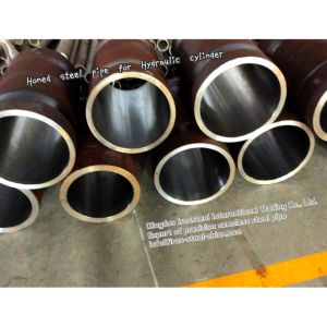 High Precision Honing Pipe for Hydraulic Cylinder by St52, Q345b pictures & photos