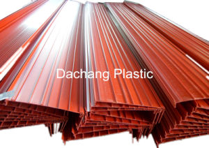 Big Custom Red UPVC Profile From Dongguan pictures & photos
