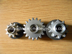 EPDM Molded Rubber Bonded to Gear/Transmission Gear/Motorcycle Parts pictures & photos