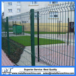 PVC Coated Metal Garden Mesh Fence Panel pictures & photos