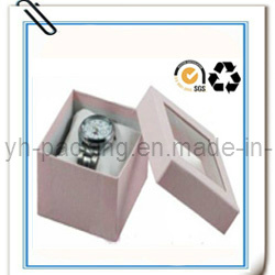 Recyclable Paper Gift Watch Box with Window (No. 007)