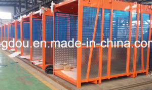 Manufacturer of Construction Building Passenger Hoist for Lifting Materials and Personnel pictures & photos
