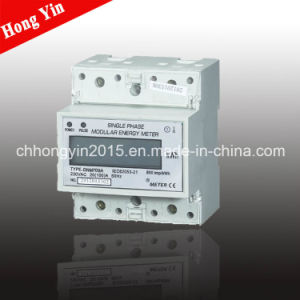 High Quality Single Phase Electronic Watt-Hour Meter pictures & photos
