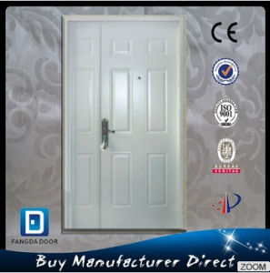 Mother and Son Prehung Front Steel Door with Sidelite pictures & photos