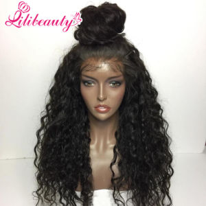 Remy Human Hair Curly Wig Front Lace Wig for Women pictures & photos