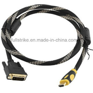 High Speed HDMI to DVI Cable (24+1)