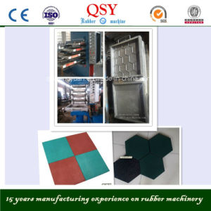 High Quality of Rubber Tiles Making Machine pictures & photos