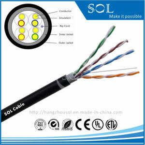 24AWG Communication Network Double Jacket 4P Cat5e UTP Cable