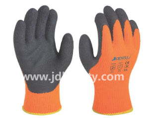 Winter Work Glove of Latex Foam Coated (LY2035) (CE APPROVED) pictures & photos