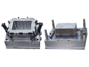 Used Mould Old Mould Plastic Turnover Box Injection Mould
