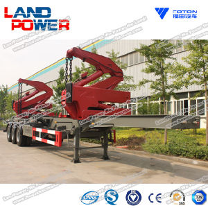Side Loading Crane Semi-Trailer pictures & photos
