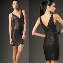 Black Hot Foil Dress pictures & photos