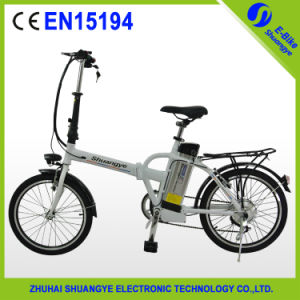 New Model 2 Wheel Mini Electric Folding Bicycle pictures & photos