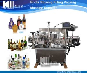 Automatic 3 Sided Sticker Labeling Machine pictures & photos